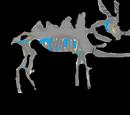 Caballo de Roca Caliza