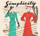 Simplicity Fashion Forecast October 1936