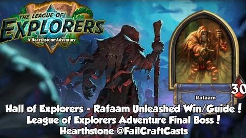 Hearthstone Rafaam Unleashed Guide Win - The League of Explorers Adventure!