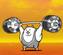 Weightlifter Cat (Super Rare Cat)