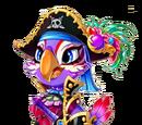Pirate Captain Parrot