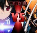 Akame vs. Wolverine