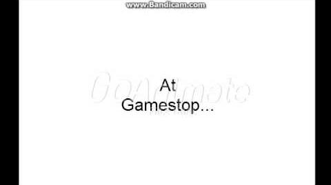 Joey Misbehaves At Gamestop