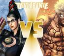 Asura vs Bayonetta