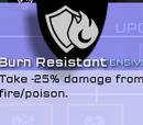 Burn Resistant