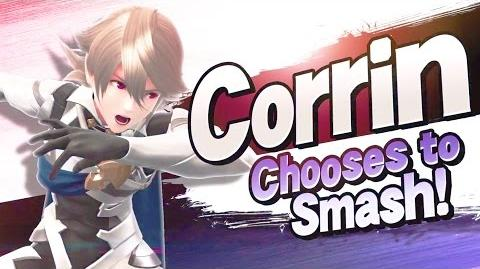 Super Smash Bros Corrin Trailer (Corrin From Fire Emblem)