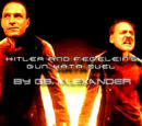 Hitler and Fegelein's gun kata duel