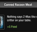 Canned Racoon Meat