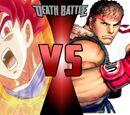 Goku vs Ryu