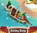 Holiday Barge Decor