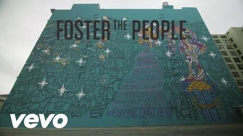 Foster The People - Coming of Age (Mural Time-Lapse)