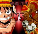 Monkey D. Luffy VS Dhalsim