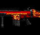 SCAR Heavy-Red Dragon