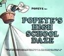 Popeye's High School Daze