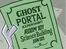 S02e16 Ghost Portal experiment flier.png