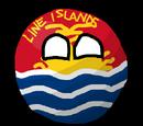 Line Islandsball