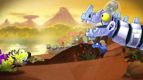 Plants vs. Zombies 2 Jurassic Marsh Part 2 Trailer