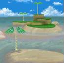 SM64DS Screenshot Gemälde Sunshine Island.png
