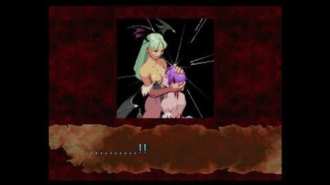 Darkstalkers Resurrection Morrigan Ending Movie - Darkstalkers 3
