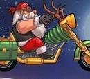 Santa's Hog Bike