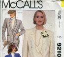 McCall's 9210 B