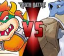 Bowser vs Blastoise