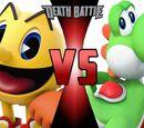 Pac-Man vs Yoshi
