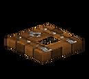Wooden Trapdoor