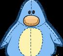 Costume de Peluche Pingouin Bleu