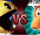 Pac-Man vs Q*Bert