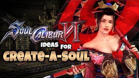 Soul Calibur 6 Character Creation Ideas