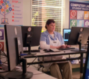 Pootatuck Middle School computer lab