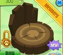 Tree Stump Chair