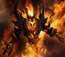 Demonio del Fuego Carmesí de Sangre