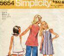 Simplicity 5654 A