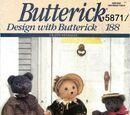 Butterick 5871 D