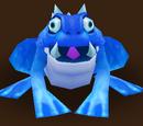 Gehörnter Frosch (Wasser)