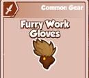 Furry Work Gloves