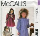 McCall's 9161 A