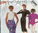 McCall's 2592 A