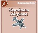 Styrofoam Airplane