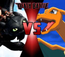 Hiccup & Toothless VS Ash and Charizard