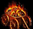 Flaming Carts