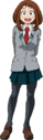 Ochaco School Uniform Full Body.png