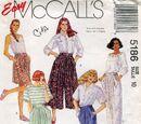 McCall's 5186 B