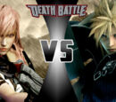 Cloud Strife VS Lightning Farron