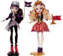 Bonecas SS-Raven Queen e Apple White