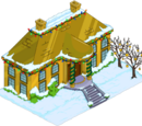 Christmas Mansion of Solid Gold