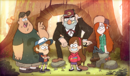 Opening Main characters of Gravity Falls.png