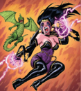 Shiklah (Earth-61610) from Mrs. Deadpool and the Howling Commandos Vol 1 1 Warren Variant.png